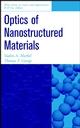 Optics of Nanostructured Materials (0471349682) cover image