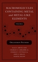 Macromolecules Containing Metal and Metal-Like Elements, Volume 2: Organoiron Polymers