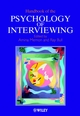 Handbook of the Psychology of Interviewing (0471498882) cover image