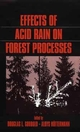 Effects of Acid Rain on Forest Processes (0471517682) cover image