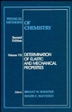 Physical Methods of Chemistry, Volume 7, Determination of Elastic and Mechanical Properties, 2nd Edition (0471534382) cover image