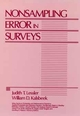 Nonsampling Error in Surveys (0471869082) cover image