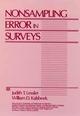 Nonsampling Error in Surveys (0471869082) cover image