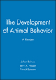 The Development of Animal Behavior: A Reader (0631207082) cover image