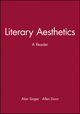 Literary Aesthetics: A Reader (0631208682) cover image