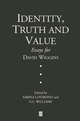 Identity, Truth and Value: Essays in Honor of David Wiggins (0631220682) cover image