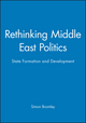 Rethinking Middle East Politics: State Formation and Development (0745609082) cover image