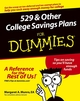 529 and Other College Savings Plans For Dummies (1118068882) cover image