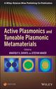 Active Plasmonics and Tuneable Plasmonic Metamaterials (1118092082) cover image