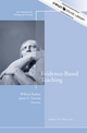 Evidence-Based Teaching: New Directions for Teaching and Learning, Number 128 (1118180682) cover image