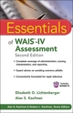 Essentials of WAIS-IV Assessment, Second Edition (1118271882) cover image