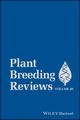 Plant Breeding Reviews, Volume 40 (1119279682) cover image