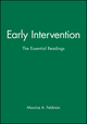 Early Intervention: The Essential Readings (1405111682) cover image