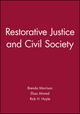 Restorative Justice and Civil Society (1405158182) cover image