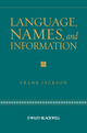 Language, Names, and Information (1405161582) cover image