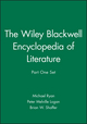 The Wiley Blackwell Encyclopedia of Literature, Part One Set (1444320882) cover image