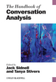 The Handbook of Conversation Analysis (1444332082) cover image
