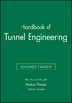 Handbook of Tunnel Engineering, Volumes I and II (3433030782) cover image