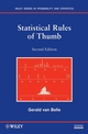 Statistical Rules of Thumb, 2nd Edition (0470144483) cover image