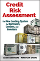 Credit Risk Assessment : The New Lending System for Borrowers, Lenders, and Investors  (0470461683) cover image