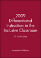 2009 Differentiated Instruction in the Inclusive Classroom: PD Toolkit (Set) (0470561483) cover image
