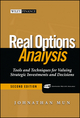 Real Options Analysis: Tools and Techniques for Valuing Strategic Investments and Decisions, 2nd Edition (0471747483) cover image
