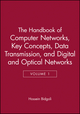 The Handbook of Computer Networks, Volume 1, Key Concepts, Data Transmission, and Digital and Optical Networks (0471784583) cover image