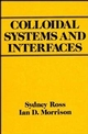 Colloidal Systems and Interfaces (0471828483) cover image