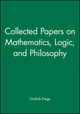 Collected Papers on Mathematics, Logic, and Philosophy (0631127283) cover image
