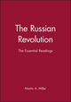 The Russian Revolution: The Essential Readings (0631216383) cover image