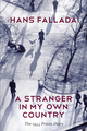 A Stranger in My Own Country: The 1944 Prison Diary (0745669883) cover image
