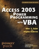 Access 2003 Power Programming with VBA (0764525883) cover image