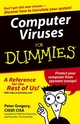 Computer Viruses For Dummies (0764574183) cover image