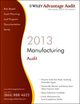 Wiley Advantage Audit 2013 - Manufacturing (1118377583) cover image