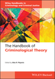The Handbook of Criminological Theory (1118512383) cover image