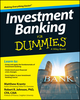 Investment Banking For Dummies (1118615883) cover image