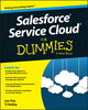 Salesforce Service Cloud For Dummies (1119010683) cover image