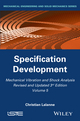 Mechanical Vibration and Shock Analysis, Volume 5, Specification Development, 3rd Edition (1848216483) cover image