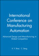 International Conference on Manufacturing Automation: Advanced Design and Manufacturing in Global Competition (1860584683) cover image