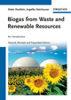 Biogas from Waste and Renewable Resources: An Introduction, 2nd, Revised and Expanded Edition (3527327983) cover image