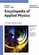 Encyclopedia of Applied Physics, 12 Volume Set, The Classic Softcover Edition (3527404783) cover image