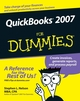QuickBooks 2007 For Dummies (0470072784) cover image