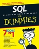 SQL All-in-One Desk Reference For Dummies® (0470119284) cover image