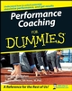 Performance Coaching For Dummies (0470517484) cover image