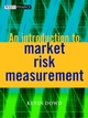 An Introduction to Market Risk Measurement (0470847484) cover image