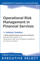 Operational Risk Management in Financial Services (0470909684) cover image