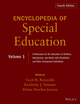 Encyclopedia of Special Education: A Reference for the Education of Children, Adolescents, and Adults Disabilities and Other Exceptional Individuals, Volume 1, 4th Edition (0470949384) cover image