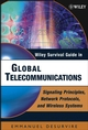 Wiley Survival Guide in Global Telecommunications: Signaling Principles, Protocols, and Wireless Systems (0471446084) cover image