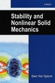 Stability and Nonlinear Solid Mechanics  (0471492884) cover image