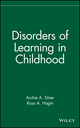 Disorders of Learning in Childhood (0471508284) cover image